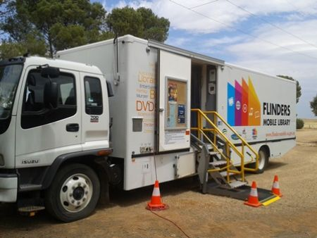 Library Flinders Mobile Library