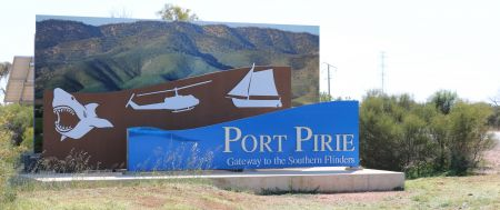 Entrance Sign-Port Pirie