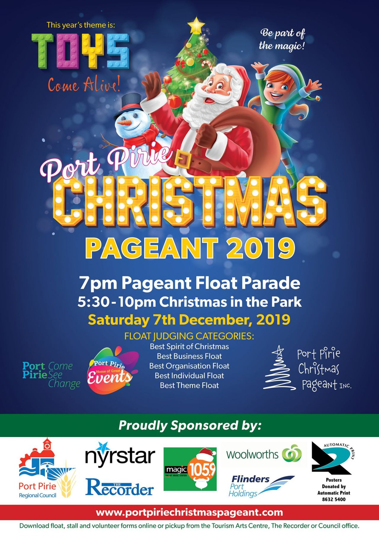 Christmas Pageant Poster
