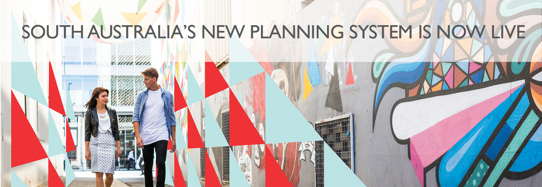SA Planning System launch banner