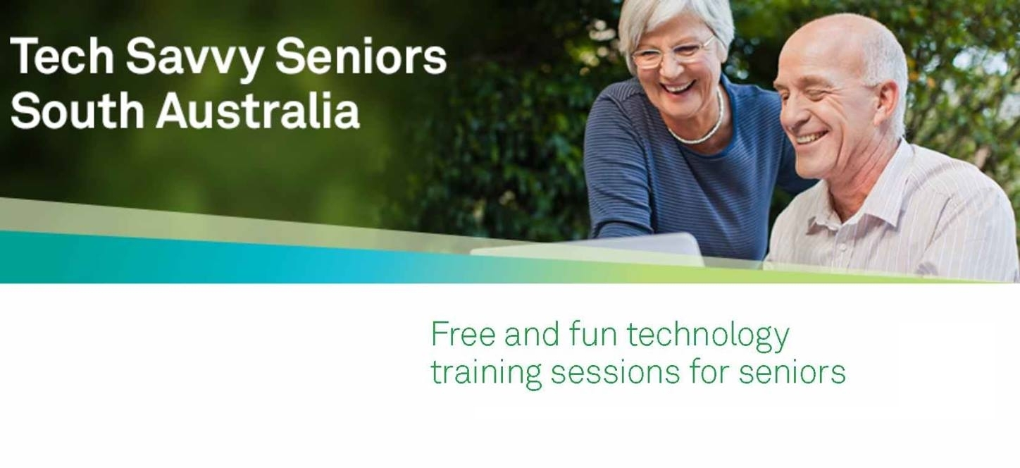 Tech Savvy Seniors Heading