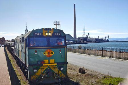 Train at Port